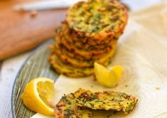 """This recipe is based on a Sicilian street food called """"Panelle"""" and here there is a great variation of panelle made with herb and spring onion and a touch of vegan parmesan. They are absolutely delicious and super easy to make! Vegan Fast Food, Vegan Snacks, Wine Recipes, Real Food Recipes, Delicata Squash Recipe, Italian Street Food, Vegetarian Recipes Easy, Vegetarian Food, Delicious Recipes"""