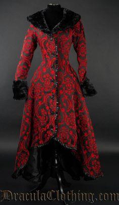 Red Evil Princess Coat