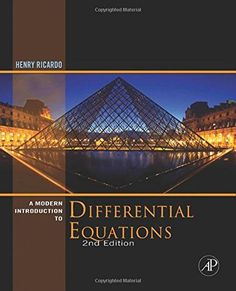 A Modern Introduction to Differential Equations, Second Edition