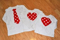 Valentine's Day shirts for siblings
