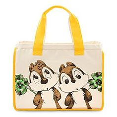Disney Chip 'n Dale Canvas Tote | Disney Store