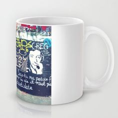 Graffitis in Paris Mug by Car Design Education Tips