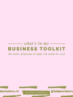My Business Toolkit