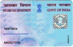 भारत सरकार द्वारा जारी किये जाने वाले पेन कार्ड (Permanent Account Number) के बारे में