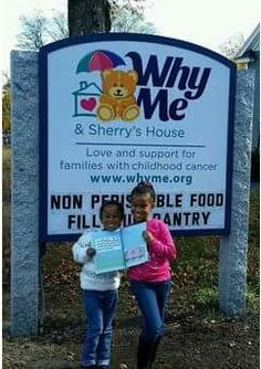 """We visited """"Why Me and Sherry's House"""" to support kids with cancer and donate my book - Aqua Tales."""