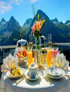 Billionaire Boyfriend- Luxurious Breakfast in The French Alps- ~LadyLuxury~