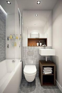 Nice 75 Simple Tiny Space Bathroom Ideas on A Budget https://homeastern.com/2017/07/12/75-simple-tiny-space-bathroom-ideas-budget/