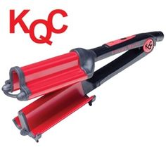 NEED IT ! KQC Xtreme Deep Waver Tourmaline / Ceramic Hybrid Iron