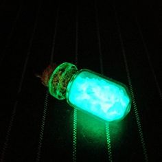 Kawaii Cute Glow In The Dark Stardust Rounded Vial Cell Phone Charm by GeekFreakBoutique, $9.50