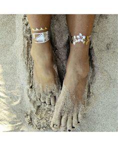 Flash Gold Tattoo Geçici Dövme Altın/Gümüş 27 Son dönemin modası altın ve gümüş…