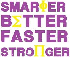Smarter Better Faster Stronger