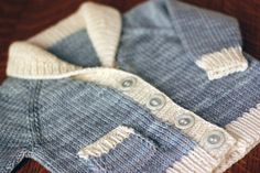 Learn to knit a Sweater - Quickly : Knitting a baby sweater is the perfect way to learn all the sweater techniques that would be necessary to knit an adult sweater, in a fraction of the time, and w...
