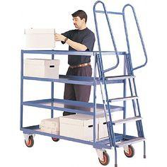 400 kgs Heavy Duty Order Picking Trolley