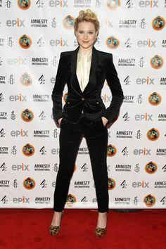 Evan Rachel Wood attends Amnesty International's Secret Policeman's Ball 2012 in NYC in Jason Wu.