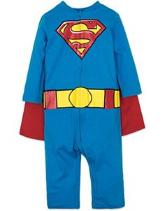 superman+costumes Products : Baby Boys' Superman Costume Coverall with Cape