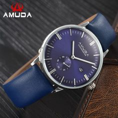 New AMUDA Brand Luxury Casual Watches Men Analog Business Watch Male Quartz Wristwatches Relogio Masculino Montre Homme