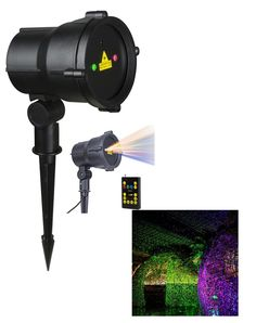 Moving RGB Remote Controllable  Laser Christmas Light Red, Green and Blue by LEDMall - LedMall