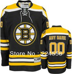 Aliexpress.com   Buy Custom boston bruins Jerseys Black Authentic  personalized Customized China Cheap ICE Hockey Jersey Number   Nane Sewn On  YS 6XL from ... 2aa7c00de