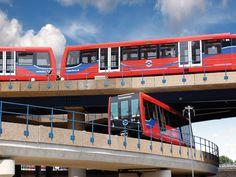 Next generation of Docklands Light Railway trains planned - Railway Gazette