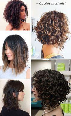 Corte Long Bob Os Mais Lindos E Pinados Do Pinterest Hair Curly