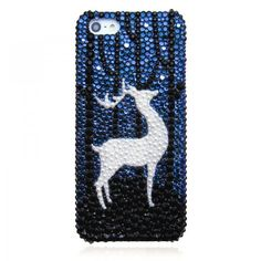 Fancy - Original Deer Elf Bling Bling Crystal Case For IPhone 5 on Luulla