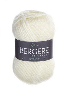 JASPEE  Needles - Aiguilles 4  Crochet hook - Crochet 4  80% Acrylique - Acrylic  20% Laine peignée - Worsted wool
