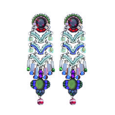 Setty Gallery - Ayala Bar Glass Slipper Aurora Earrings, €190 (http://www.settygallery.com/ayala-bar/ayala-bar-glass-slipper-aurora-earrings/)