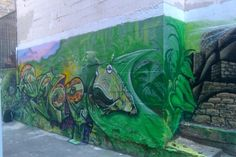 Jungle on Leavenworth 245 Leavenworth Street, San Francisco  Artist: Camer1 of Rattlecan Blasters Photography By: Cameron Moberg