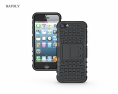 Shockproof Case For iphone 5SE Cover Soft Silicone & Hard Plastic Armor Case For iPhone 5S 5se 5 Phone Kickstabd Fundas Capa <
