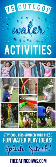 Look no further, the top 75 water games, activities, DIYs and toys are ALL right here to help you celebrate summer and beat the heat!