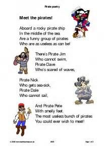 pirate poems for kids - - Yahoo Image Search Results