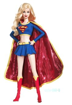 Barbie as Kara Zor-El Supergirl