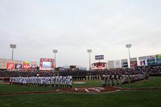 Inauguración Temporada 2014 @Sultanes de Monterrey  6-4 Broncos de Reynosa (02/04/14) Foto: Roberto Alanís