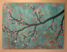 cherry blossom artwork canvas | Recent Photos The Commons Getty Collection Galleries World Map App ...
