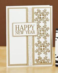 Elegant Hy New Year Card By Debbie Seyer Cards