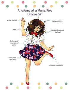 Hookup a manic pixie dream girl