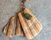 boho gypsy beachy scallop seashell necklace, beachy jewelry, beach wedding jewelry, seashell jewelry
