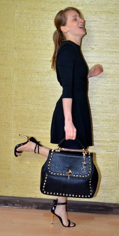 bag relish italy  high heels and dress also relish italy