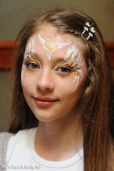 Die 8 Besten Bilder Von Engel Makeup Costumes Angel Halloween