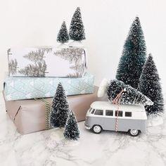 Christmas decoration / Gift wrapping / Home decoration / Kredit @mirjam_hart / #grenediy