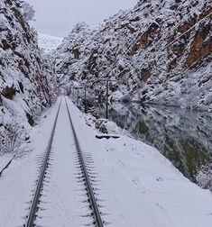 Train Tour, Ferrat, Train Tracks, Tours, Snow, Winter, Outdoor, Train, Railroad Tracks