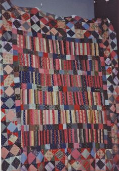 And the answer is . . . vintage quilts and quilt tops. No surprises here. Some of my very favorites of my works are based upon the quilts of these others who have come before me. I se…