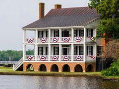 Homes - Edenton Pilgrimage of Historic Homes - Edenton, North Carolina