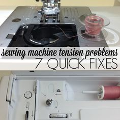 Repair Sewing Machine Tension Problems: Quick Fixes | AllFreeSewing.com http://www.allfreesewing.com/Sewing-Tips-and-Tricks/Repair-Sewing-Machine-Tension-Problems