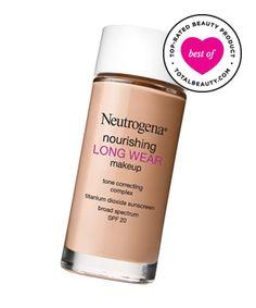 Best Drugstore Foundation No. 9: Neutrogena Nourishing Long Wear Liquid Makeup Broad Spectrum SPF 20, $14.99