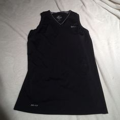 Nike Dri fit size m  final sale price These are used combat Dri fit has few stains needs wash I think they will come out Nike Tops Tank Tops