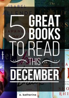 5 Great Books To Read This December