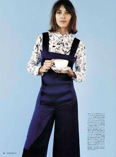 Alexa Chung | Vogue Girl Japan N°8 2015 (Photography: Angelo Pennetta)