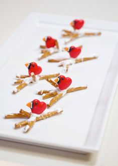 DIY Hot Cocoa Critters Winter Cardinals