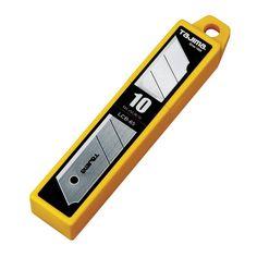 Tajima 25 MM Snap Blade 10 Count * Snap Blade* Ultra-sharp #hometools #homeequipment #homedepot #houseneeds
